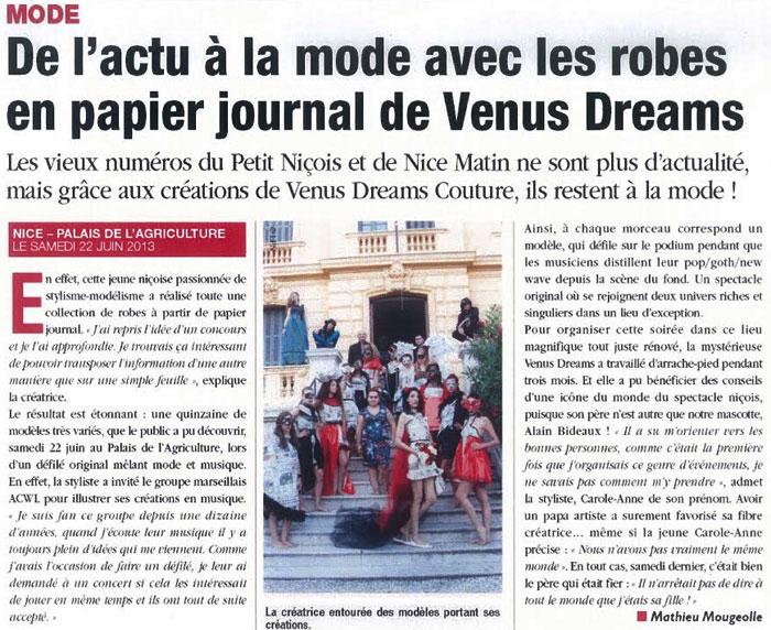 Le site officiel d 39 alain bideaux chanteur et com dien ni ois - Le journal de la mode ...